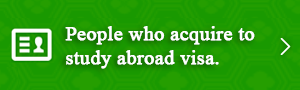 Peple who acquire to study abroad visa.